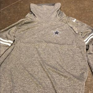 Dallas Cowboys women's funnel neck shirt